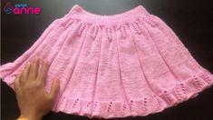 Snurr-Meg-Skjørt / Triple Skirt pattern by Knit Me Lace Knitting, Baby Knitting Patterns, Knitted Christmas Jumpers, Crochet Hair Accessories, Baby Girl Sweaters, Baby Skirt, Knitting Videos, Knit Skirt, Ruffle Skirt