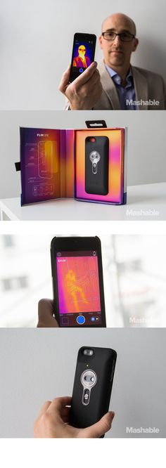 The FLIR One Thermal Imaging Camera for iPhone 5 and 5S can see the heat signatures of people, places and things and, with proprietary software, converts the data into eye-popping, temperature-information-rich images that you can manipulate and share.