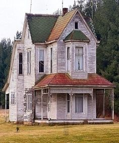 Old White Farm House