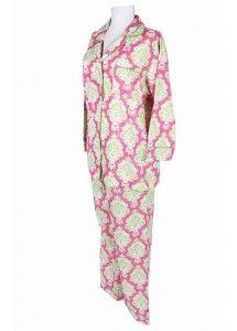 Istanbul Pink & Lime Pajama Set