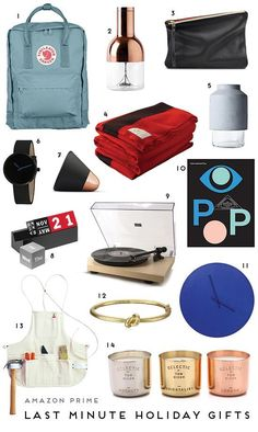 14 last minute gifts to give for the holidays. Every item on this gift guide is Amazon Prime. So you can still get any of these items in time for Christmas, if you order by Wednesday the 23rd.