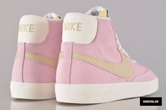 The Nike Blazer Mid Vintage Embraces Pastel Suedes - SneakerNews.com