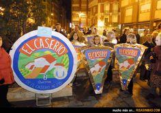 Disfraces originales: Quesitos El Caserio.
