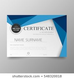 Certificate template awards diploma background vector modern value design and luxurious layout. leaflet cover elegant horizontal Illustration in size pattern.