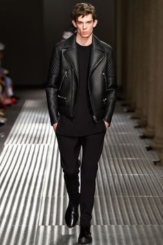 Neil Barrett always has clean lines one code I live by Spring-Summer 2015 Men's Collection