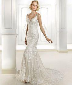 Cosmobella Wedding Dress Style 7696 | www.DemetriosBride.com #weddingdress #bride #bridal