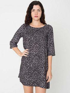 California Select Originals Leopard Print Tent Dress
