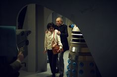 Matt Smith makes cameo Doctor Who 50th anniversary film appearance in An Adventure in Space and Time, meeting original Doctor William Hartnell - Mirror Online