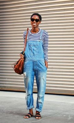 1 Peça 3 Looks: Jardineira Jeans