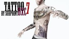 Tattoos for males by Subpoint - Sims 3 Downloads CC Caboodle