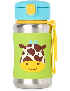Skip Hop Zoo Giraffe Sports Bottle | David Jones