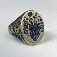 Cute Jewelry, Jewelry Rings, Jewelry Accessories, Fashion Accessories, Unique Jewelry, Accesorios Casual, Ring Verlobung, Signet Ring, Dream Ring
