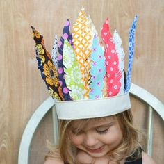 Fabric Feather Headdress