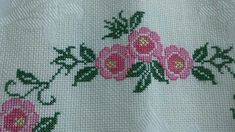 This Pin was discovered by yas Prayer Rug, Embroidery Stitches, Cross Stitch, Blanket, My Favorite Things, Pattern, Flowers, Cross Stitch Rose, Cross Stitch Patterns