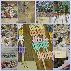 how to make a fairy garden, flowers, gardening, The fun accessories