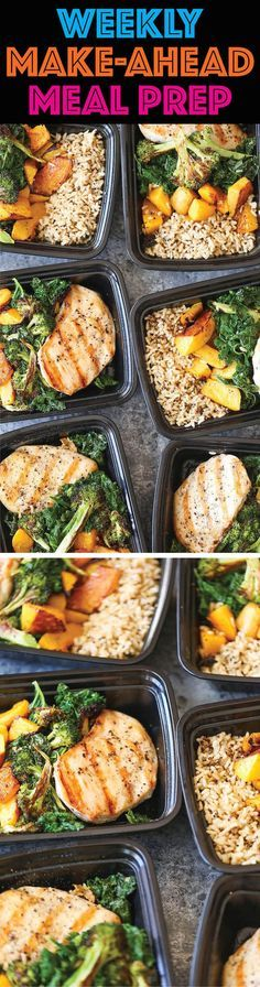 Weekly Meal Prep - Plan ahead and make healthy choices all week. You can stay on…