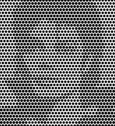 things aren't always as clear as black and white. At first, we only see bunch of different-sized black dots positioned on a white surface. But Terence gave us a big hint!  In order to properly see the hidden picture, we should squint our eyes. We can also look at a picture from greater distance. This should help us seeing the hidden celebrity. Can you guess who it is?