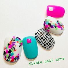 美容師さんネイル の画像|茨城県水戸市プライベートネイルサロン flicka Nail Arts