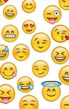 Emoji backgrounds on Pinterest | Emojis, Backgrounds and We Heart It