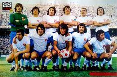Real Madrid, Real Zaragoza, Football Team, Soccer, Couple Photos, Color, 1975, Sport, Spanish