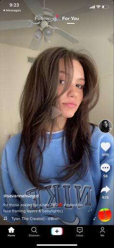 Long Brown Hair, Long Hair With Bangs, Brown Blonde Hair, Long Layered Hair, Face Framing Hair, Face Framing Layers, Hair Color And Cut, Cut My Hair, Layed Hair Cuts