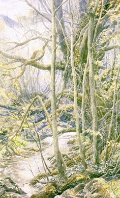The Lord of the Rings illustrations by Alan Lee - Imgur