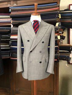 Our doublebreasted suit Bond Suits, Men's Suits, Gray Suits, Dress Suits For Men, Men Dress, Floral Suit Men, Business Casual Suit, Designer Suits For Men, Tweed Suits