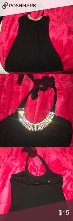 Black Diamond Halter Top Only worn a few times. Good as new. Offers accepted. Tops