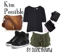 Kim Possible casual cosplay