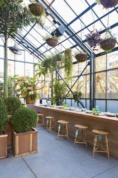LA's Koreatown Greenhouse: The Line Hotel's Commissary Restaurant