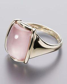 Jetzt Rosenquarz-Ring aus Gold