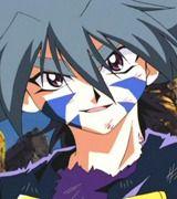 kai hiwatari and his awesome and rare smile;-)