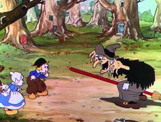 Disney Shorts (HD) - 1932 - Silly Symphony: Babes in the Woods