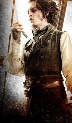 sweeney todd -- wasn't perticularly impressed with this movie but hey, it's johnny depp xD