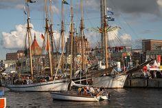 Im Stadthafen Rostock
