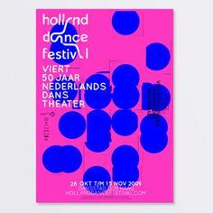 Holland Dance Festival 2009 by SILO -European Design Agency of the Year , via Behance