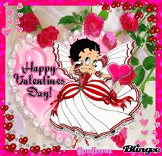 Free Pictures Betty Boop Facebook   betty boop valentine Picture #81763058   Blingee.com