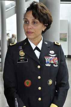 Nadja West will become the black female three-star general