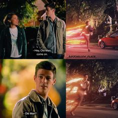 "Nora and Barry ""What's Past Is Prologue"" Flash Tv Series, Cw Series, Dc Tv Shows, The Cw Shows, Flash Funny, Flash Wallpaper, O Flash, Flash Barry Allen, The Flash Grant Gustin"