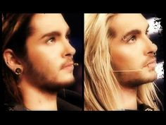 Bill & Tom Kaulitz Twins . . . It really fucked with my head when Bill went blonde and Tom went dark.