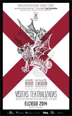 Trasládate al medievo en Elciego.... a partir del próximo viernes. Os dejamos el cartel diseñado para estas jornadas.