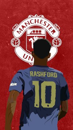 Manchester United Club, Manchester United Old Trafford, Manchester United Wallpaper, Ronaldo Football, Messi And Ronaldo, Marcus Rashford, City Logo, Football Wallpaper, Football Pictures