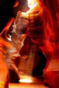 Top 10 Unusual Landscapes - Antelope Canyon, USA I envy all of you who had the chance to visit this corner of paradise. Blessed with unusual but splendid rock formations, Arizona seems to be the home of natural wonders. The Grand Canyon, the Petrified Forest and the Wave are some of the world's most visited and photographed places. Read more: http://www.toptenz.net/top-10-unusual-landscapes.php#ixzz2OmYoeL00