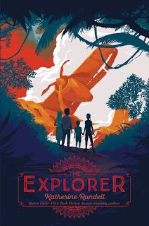 The Explorer by Katherine Rundell - From Boston Globe–Horn Book Award winner Katherine Rundell comes an exciting new novel about a group of kids who must survive. Book Cover Art, Book Cover Design, Book Art, Cover Books, Edition Jeunesse, Buch Design, Beautiful Book Covers, Chapter Books, Children's Book Illustration