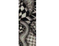 Peyote Bracelet Pattern Night Owl par KarenBrunsDesigns sur Etsy