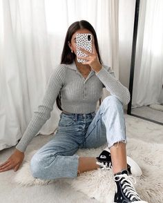 Teen Girl Outfits, Mode Outfits, New Outfits, Chic Outfits, Trendy Outfits, Summer Outfits, Fashion Outfits, Looks Pinterest, Mom Jeans Outfit