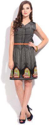 Buy Global Desi Women's Shift Dress Online at Best Offer Prices @ Rs. 1,899/- In India. #Maxi #Dresses #India