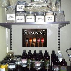 Reorganizing my ingredients