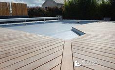 Envie d'une terrasse en bois autour de votre piscine, sautez le pas avec du Cumaru.