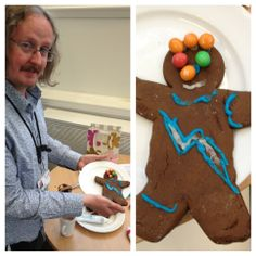 Adrian's Bowie inspired Gingerbread man